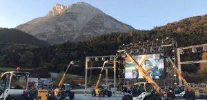 Liebherr Teleskoplader Launchevent